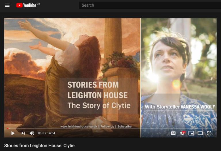 Storytelling at Leighton House Screenshot