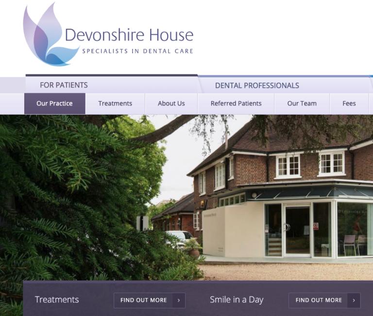 Devonshire House Dental Homepage