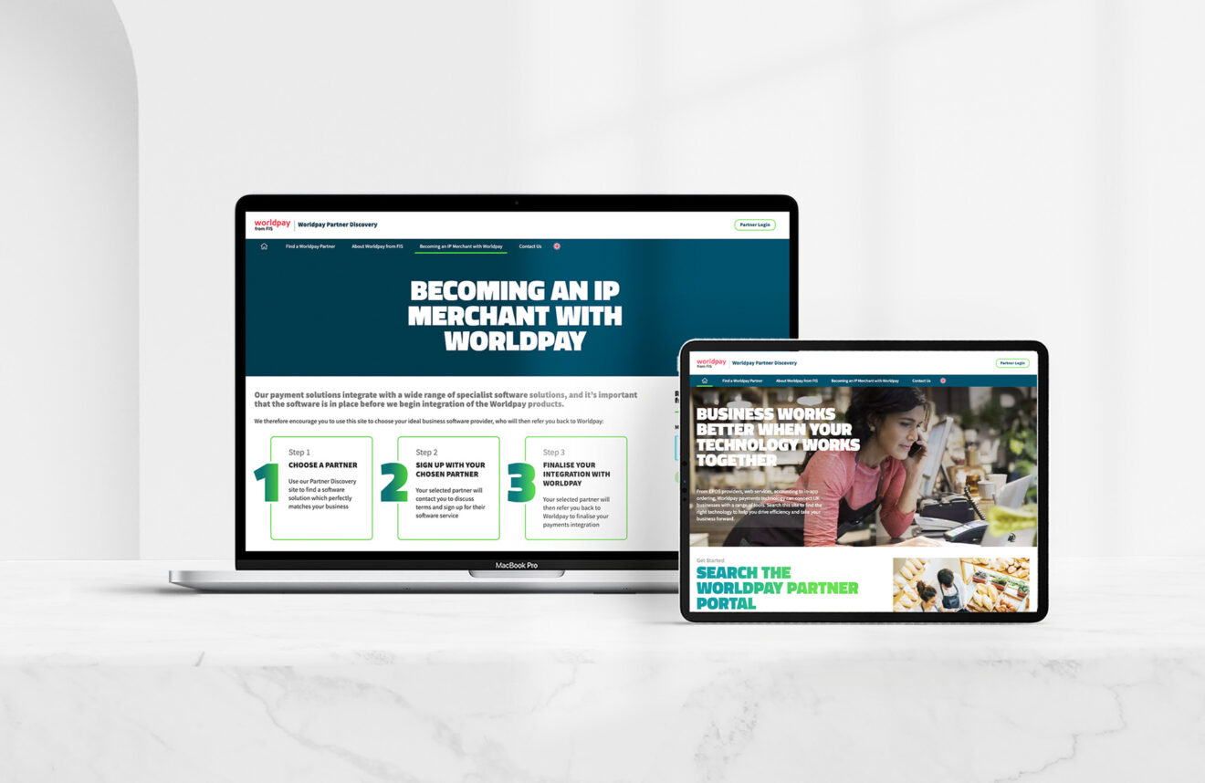 Worldpay Partner Discovery Site